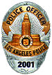 Los Angeles Police Dept. badge