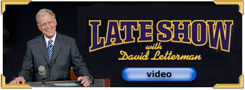 Button to Letterman video clip