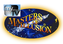 Masters of Illusion magic series logo