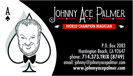 Magician johnny ace palmer and his magic contact info colourmoves